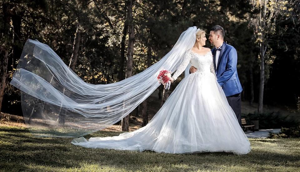 Vestito bianco da sposa a Bergamo