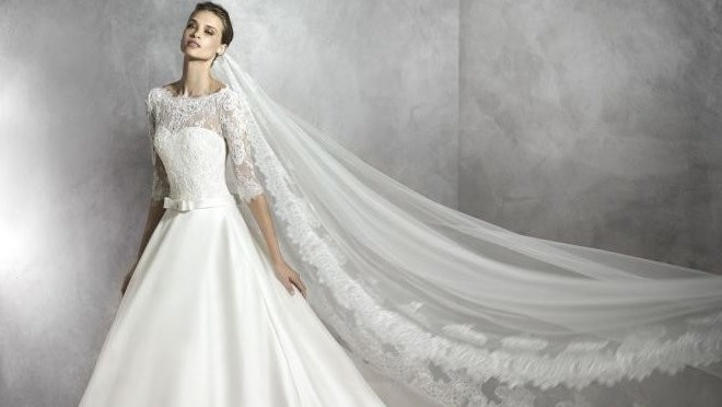 Abito da sposa 2017